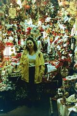 Florida in February, 2018 (Matthew Willsea) Tags: florida film fujifilm pro 400 400h lomography lomo lofi color christmas xmas happy holidays merry santa claus snowmen snowman flash photography yashica electro 35
