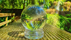 Cristal -5744 (ΨᗩSᗰIᘉᗴ HᗴᘉS +23 000 000 thx) Tags: nature cristal bouledecristal crystal crystalball hensyasmine namur belgium europa aaa namuroise look photo friends be wow yasminehens interest intersting eu fr greatphotographers lanamuroise tellmeastory flickering