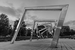 Framed~ (mark-marshall) Tags: chicago mary bartelme park marybartelmepark bw mono