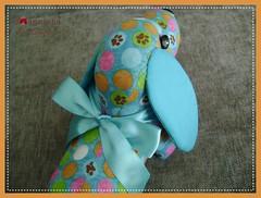 041 (Joanninha by Chris) Tags: pesodeporta cachorrinho dog handmade artesanato feitoamao bordado tecido aplicaçaodetecidos