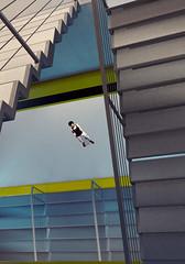 crap... she saw us (Rakkhive) Tags: mirrorsedge parkour faith rooftops skyscrapper buildings glass architecture screenshots gamephotography screenarchery gedosato