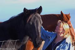 Charlene with her horse (K.R. Alexander) Tags: nikond70 charlene horses