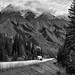 Driving the Roads of British Columbia (Black & White, Yoho National Park)
