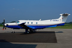 C-GDBJ (Aviation Starlink) (Steelhead 2010) Tags: yhm creg cgdbj pilatus pc12 aviationstarlink