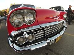 Caddy (chearn73) Tags: cadillac coupedeville winnipeg canada manitoba classiccar car red showcar