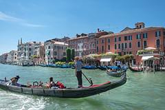 Venice Gondola Ride .......... (Xacobeo4) Tags: venice gondola ride serenade grand canal
