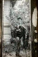│à la Vivian Maier project│ (RapidHeartMovement) Tags: self selfportrait portrait monochrome mirrored mirrorreflection reflected selfwcamera àlavivianmaier