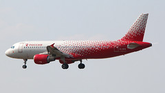 IMG_6766 VQ-BFM (biggles7474) Tags: egkk lgw london gatwick airport vqbfm airbus a320 a320214 rossiya russian airlines named tver kalinin