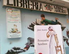 Rocío - Granada/España (Sitio de Jane Austen) Tags: janeausten persuasion200 persuasion northangerabbey200 northangerabbey laabadíadenorthanger fridaycatherine fridayanne bicentenario bicentennary books libros