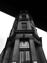 No 1 Queen Street (Mr Ian Lamb 2) Tags: architecture building monochrome bandw perspective queenstreet newcastle northeast urban town street tyneside quayside tynebridge mono