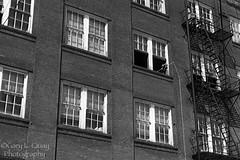 Brick (Gary L. Quay) Tags: portland pdx southeast oregon se eastside industrial eastsideindustrial ticeelectric tice electric grafitti brick gary quay garyquay nikon d810 nikond810 windows fireescape fire escape
