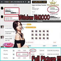 #918Kiss🔥🔥 #Tahniah Bossku🎊 Withdraw#RM2OOO🆙🆙🆙 Slot(SHUI HU)#FULL PICTURE📢  #JOIN US NOW 💯  #Wechat✅firstwin4 #Whatsapp✅+0111 540 1613 🏪www.firstwin88.com (jackywin120) Tags: 918kiss whatsapp full join wechat tahniah rm2ooo