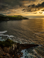 Sunset @ Getaria (Patrick LEMAIRE) Tags: getaria baskenland spanje coast sunset