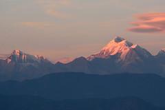 Mt Trishul and Nandaghunti at sunset (draskd) Tags: mttrishul trishul nandaghunti sunset kausani uttarakhand almora scenics scenery