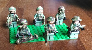 Lego Military - Army Special Operation Task Force
