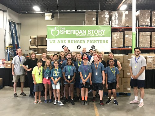 US Bank & Harvest Packs Packing Event 7/31/18