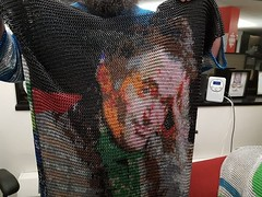 Hall of Fame of today. https://www.cbc.ca/amp/1.4426207 #Chainmail #ChainMaille #CotaDeMalla (cotascastillo) Tags: chainmaille chainmail cotademalla