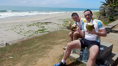 Reaching the east coast. Have a #break. #Coco #CycleMadagascar #MTB #mountainbike #challenge #BikeHoliday #AfterCycling #BikeExperience #bikeride #bicyclelicious #culinary #culinaire #bikelife #rideyourbike #Madagascar #rock_machine #stevens #cube #RockSh (klaus.a.sperling) Tags: coco bikeexperience bikeride mtb rideyourbike culinary bikelife bicyclelicious mountainbike break bikeholiday suntour challenge aftercycling cyclemadagascar stevens rockshox cube rockmachine culinaire madagascar