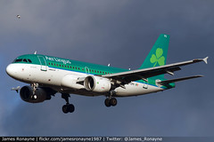 EI-EPU   Airbus A319-111   Aer Lingus (james.ronayne) Tags: eiepu airbus a319111 aer lingus aeroplane plane airplane aircraft aviation flight flying jet jetliner airliner airline london heathrow lhr egll canon 80d 100400mm raw