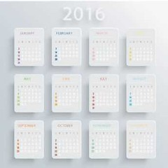 2016 white card calendar template vector (cgvector) Tags: 2016 abstract annual autumn background basic business calendar calender card color colorful daily date day december design diary element european event graphic happy holiday illustration modern month monthly new number office organizer page paper plan planner red reminder schedule season simple template time vector vintage week winter year