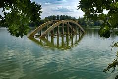 Jesenice - Talsperre (tucsontec) Tags: jesenice lake stausee brücke bridge wondreb tchechien cz landschaft landscape outdoor travel cheb eger bohemia