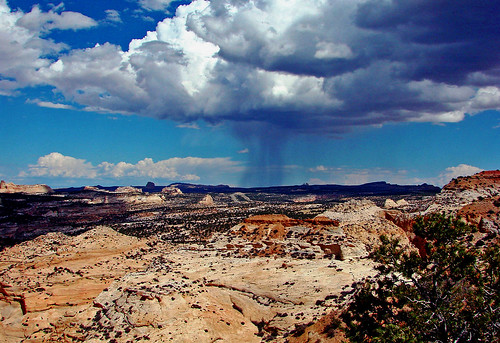 Badlands Rain, Utah 2012