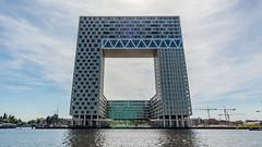Pontsteigergebouw (stavos) Tags: pontsteigergebouw amsterdam netherlands canon 7dmarkii uwa wideangle architecture houthaven