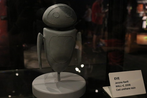 """Eve Maquette from Wall-E - The Science Behind Pixar • <a style=""""font-size:0.8em;"""" href=""""http://www.flickr.com/photos/28558260@N04/43882286741/"""" target=""""_blank"""">View on Flickr</a>"""