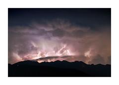 A Fire In The Sky (W.Utsch) Tags: thunderstorm flash landscape temporale storm fulmine weather gewitter blitz clouds wolken ticino lugano montegeneroso