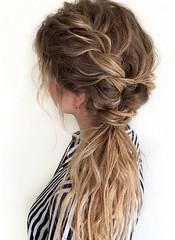 Wedding Hairstyle   : Featured Hairstyle: Hair by Zolotaya; www.instagram.com/hair_by_zolotaya; Wedd... (Wedding Land) Tags: