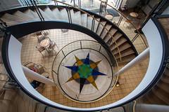 Science Museum (Elbmaedchen) Tags: science museum steno aarhus universität university treppenhaus staircase stairs stairwell steps roundandround downstairs escaliers escaleras
