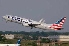 N837NN | Boeing 737-823/W | American Airlines (Oneworld) (cv880m) Tags: newyork jfk kjfk kennedy aviation airliner aircraft airplane airline jetliner n837nn boeing 737 738 737800 737823 winglet aal american americanairlines oneworld takeoff
