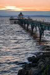 Clevedon pier (SCRIBE photography) Tags: uk england somerset clevedon pier victorian sea sun sunset seaside