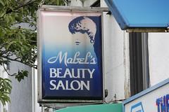 Mabel's (Photocatvan) Tags: vancouver vancity mainstreet mountpleasant sign signage retrosign