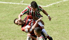 Sub-17 Fluminense x Flamengo 11.08.2018 (Fluminense F.C.) Tags: estadual futebol jogando
