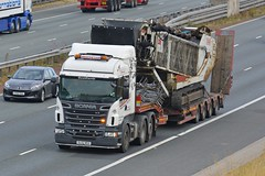 SL62 MSX (panmanstan) Tags: scania r500 wagon truck lorry commercial heavy haulage freight transport vehicle a1m fairburn yorkshire