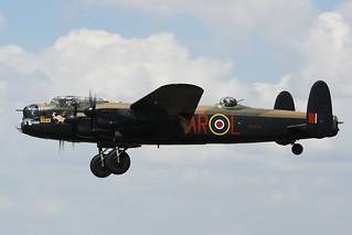 PA474 Avro Lancaster Mk.1 EGVA 14-07-18