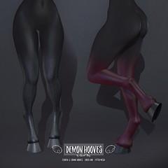 Demon Hooves by Sweet Thing (Sweet Thing.) Tags: sl secondlife sweetthing demon devil succubus cosplay kinky romp maitreya slink hourglass belleza isis freya