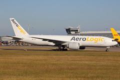 AeroLogic Boeing 777-FZN D-AALB EMA 26/06/18 (bhxflights) Tags: aerologic cargo freighter boeing boeing777 ema egnx eastmidlands eastmidlandsairport airport