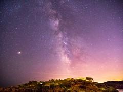 « Lèves les yeux et regardes... Regardes toutes ces étoiles qui font rêver. Il y a la bonne étoile, celle qui croît en toi, alors avances et attrapes là... » Lexlutin.  #star #milkyway #Mars #sky #gx9 #dream #NDELumix (Lexlutin66) Tags: star milkyway mars sky gx9 dream ndelumix