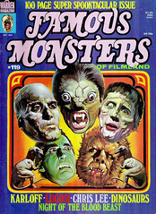 Famous Monsters #119 (1975), cover by Ken Kelly (gameraboy) Tags: vintage famousmonsters 119 1975 cover kenkelly 1970s art illustration