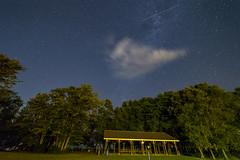 Stars clouds and meteors (Nicoli OZ Mathews) Tags: perseid meteor shower perseidmeteorshower stars clouds galaxy night park art