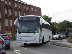 Stagecoach Yorkshire 54055 KX09 NCO on Rail Replacement, Malkin St, Chesterfield (sambuses) Tags: stagecoachyorkshire railreplacement 54055 kx09nco