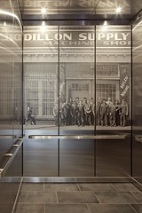 Elevator Print (The Dillon Raleigh) Tags: art photos prints dillonsupply thedillonraleigh thedillon warehousedistrict elevator