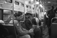 . (m_travels) Tags: candid man bus train muni kodaktmax3200 nightphotography blackandwhite плёнка film 35mmfilm grain dark style analog argentique peopleofsanfrancisco