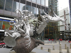 UK - London - City of London - Sculpture in the City 2018 - Crocodylius Philodendrus (JulesFoto) Tags: uk england london cityoflondon sculptureinthecity openairexhibition