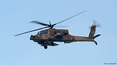 Chel Ha'avir Boeing AH-64D Apache/Saraf '820' overflying Israeli coastline (Mosh70) Tags: israel israelairforce chelhaavir sikorskyuh60blackhawk boeingah64dapache boeingah64dsaraf