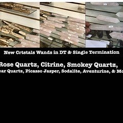 Just Restocked All of Our Crystal Wands From Brazil ; Both - Double Terminated & Single Terminated Wands || We Now Have Wands Out in at Least 25 Different Stones - Come Check These & the Thousands of Other #Crystals , #Stones , #Fossils , #handmadejewelry (mikepiron1) Tags: jewelryandmineral las vegas crystal crystals store shop metaphysical supply healing rock mineral minerals miner collection natural stone