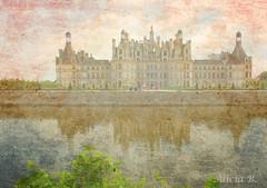 Castillo de Chambord (Alicia B,) Tags: loira france francia castillo chateau reflejos europa europe