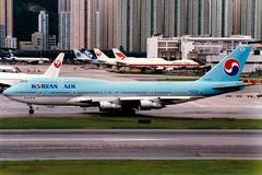 Korean Air | Boeing 747-300M | HL7470 | Hong Kong Kai Tak (Dennis HKG) Tags: aircraft airplane airport plane planespotting skyteam hongkong kaitak vhhx vhhh hkg korean koreanair kal ke boeing 747 747300 boeing747 boeing747300 747300m boeing747300m combi hl7470